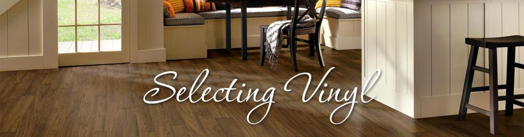 Selecting Vinyl Flooring for your home
